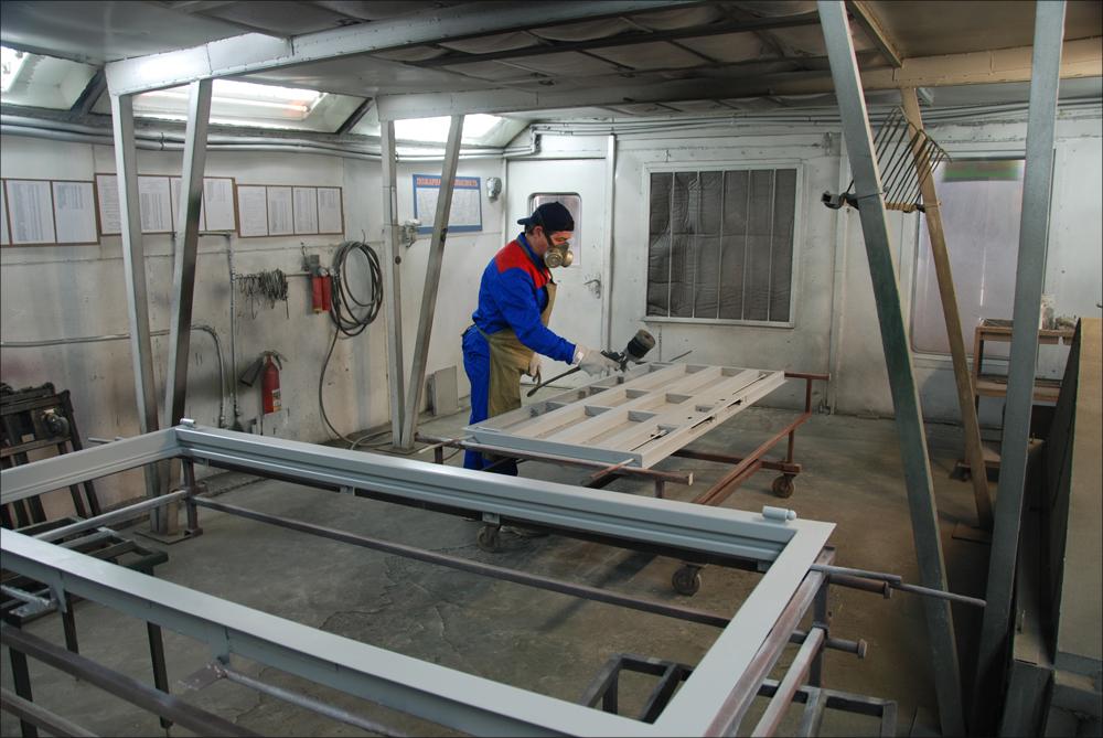 изготовление металлических дверей установка