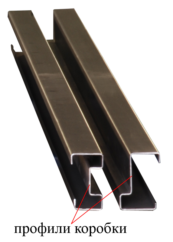 стальной профиль для двери